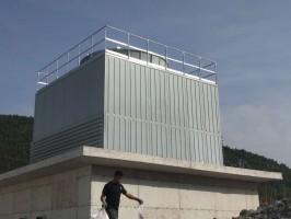 河南方形工业冷却塔