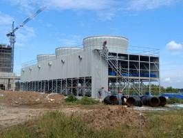 河南方形工业玻璃钢冷却塔